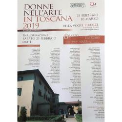 QUADRATA_Locandina mostra 8 marzo Villa Vogel Firenze 2019 -