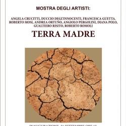 Locandina mostra Terra Madre, Società delle Belle Arti, Circolo degli Artisti Casa di Dante, Firenze, settembre- ottobre 2019