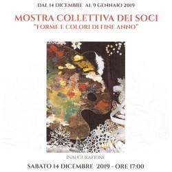 Locandina Forne e colori di Fine Anno , Casa di Dante, 2019 per web