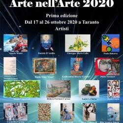 Manifesto 70x100 Locandina Ufficiale Arte nell'Arte 2020