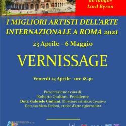Invito I migliori artisti dell'Arte Internazionale a Roma, Galleria il collezionista 2021